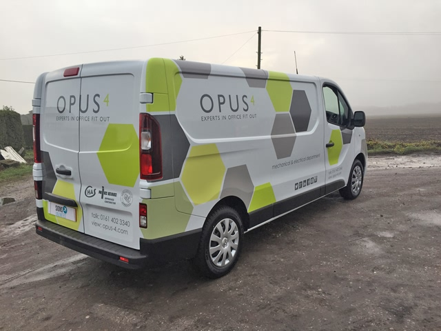 Photo of vehicle with wrap